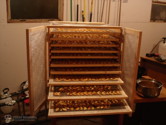 Шкаф для сушки фруктов своими руками 7
