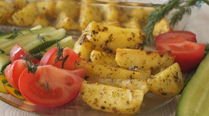 Самый вкусный запеченный картофель