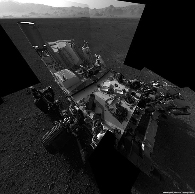 Марсоход Curiosity: первые дни на Марсе