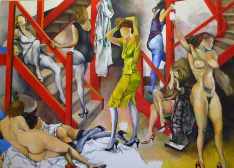 художник Ренато Гуттузо (Renato Guttuso) картины – 05