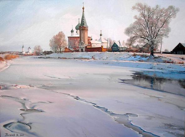 Художник Вячеслав Палачев