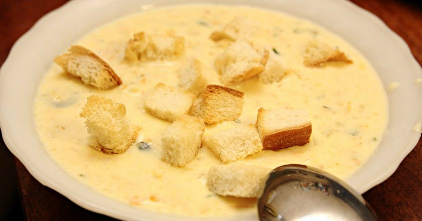 Как приготовить сырный суп