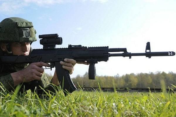 Британские СМИ о российском автомате АК-12
