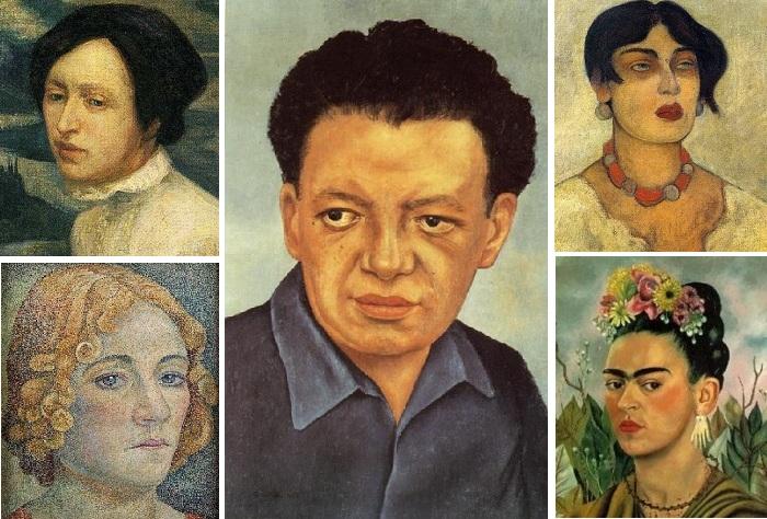 """Любвеобильный мексиканец по прозвищу """"людоед"""": Жены и любовницы известного художника-муралиста Диего Риверы"""