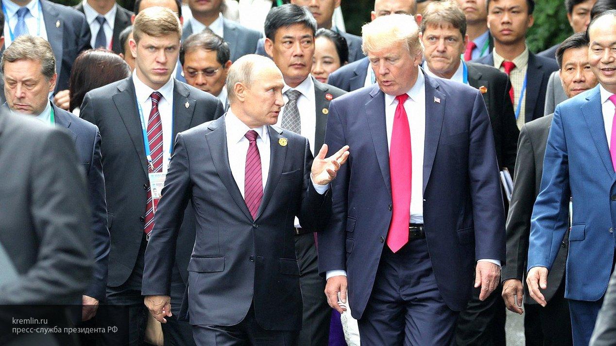 Дональд Трамп прилетел в Хельсинки на встречу с Владимиром Путиным