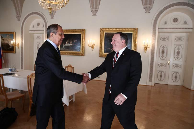 Встреча Сергея Лаврова и Май…