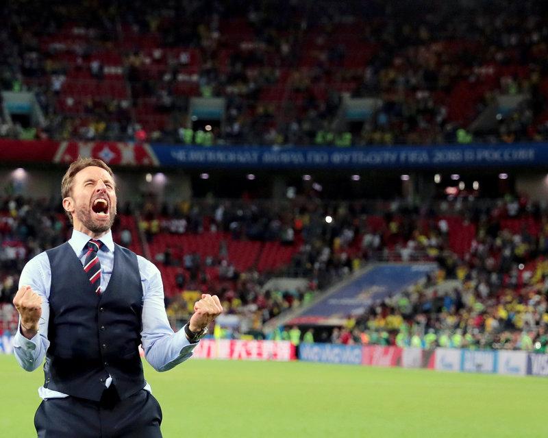 Гарет Саутгейт: «Когда выйдет следующий рейтинг ФИФА, думаю, мы вернемся в первую десятку, там наше место»