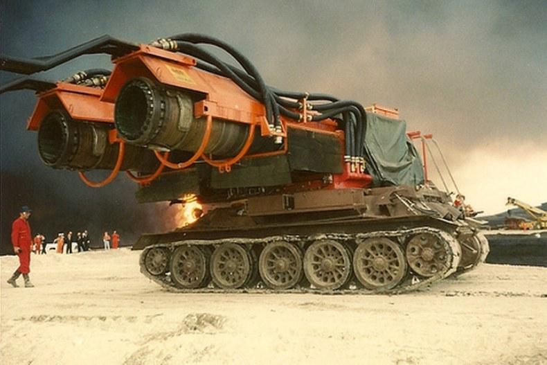 Самые мощные пожарные машины