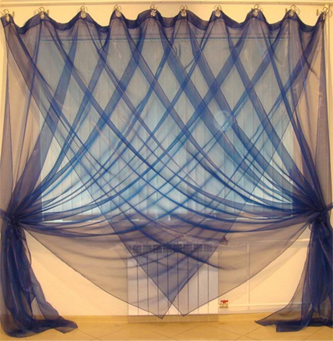 Дизайн штор своими руками фото