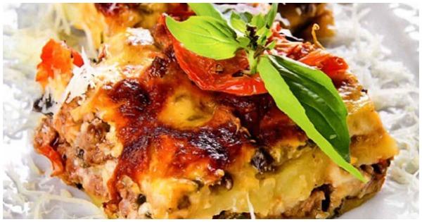 Мм, мусака! Вкуснейшее греческое блюдо под пряным соусом бешамель