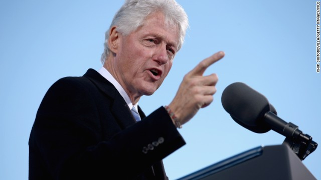 With an Eye to 2016, Bill Clinton Campaigns in New Hampshire