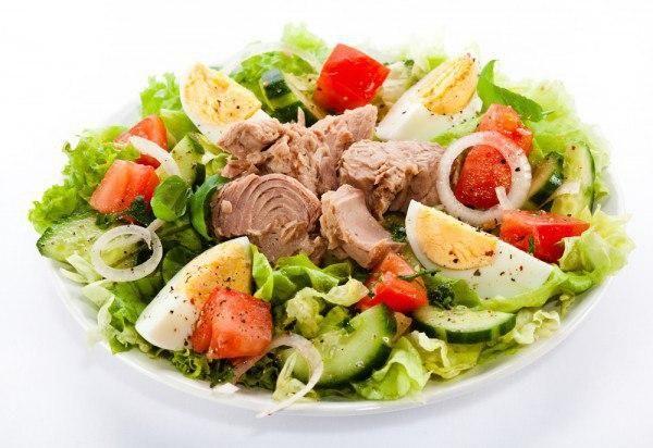 Топ-6 вариантов белковых салатиков для ПП-ужина