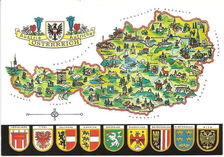 Характерная черта европа, история, названия стран