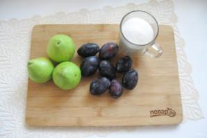 Варенье из слив и груш - фото шаг 1