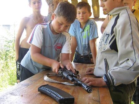 Детские программы - Владение оружием