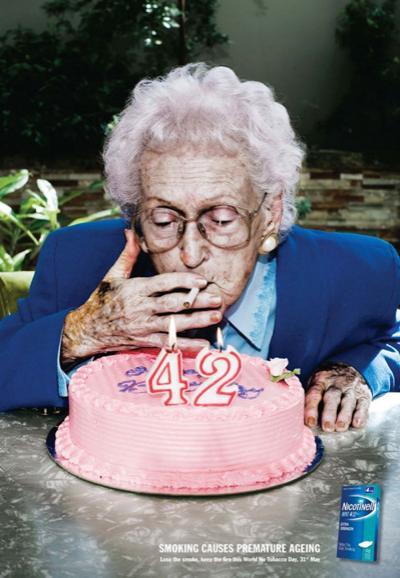 33 лучших принта против курения