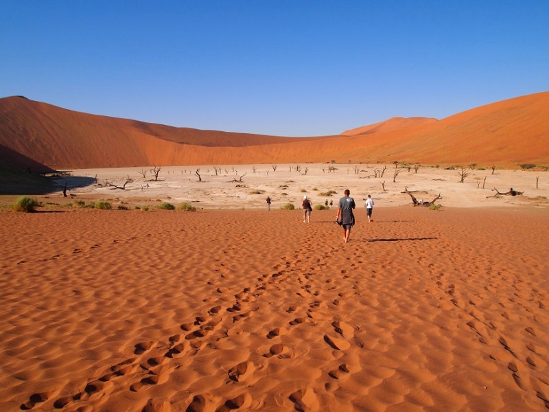 Мертвая долина: Невероятные пейзажи жаркой пустыни