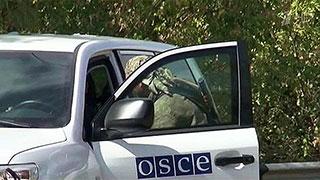 Наблюдатели ОБСЕ попали под обстрел украинских силовиков