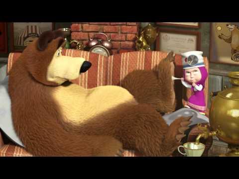 Смотреть мультик маша и медведь как маша лечит