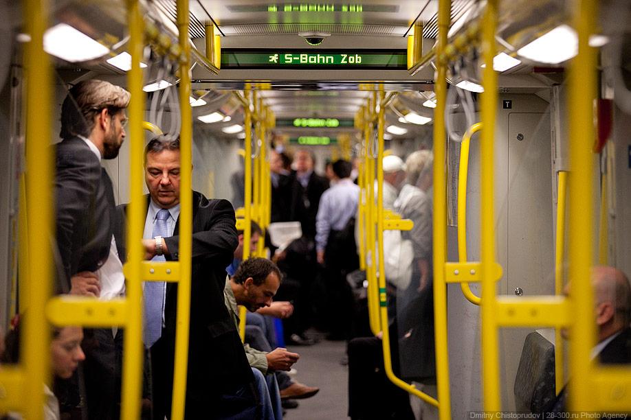 Berlin 15 Общественный транспорт Берлина
