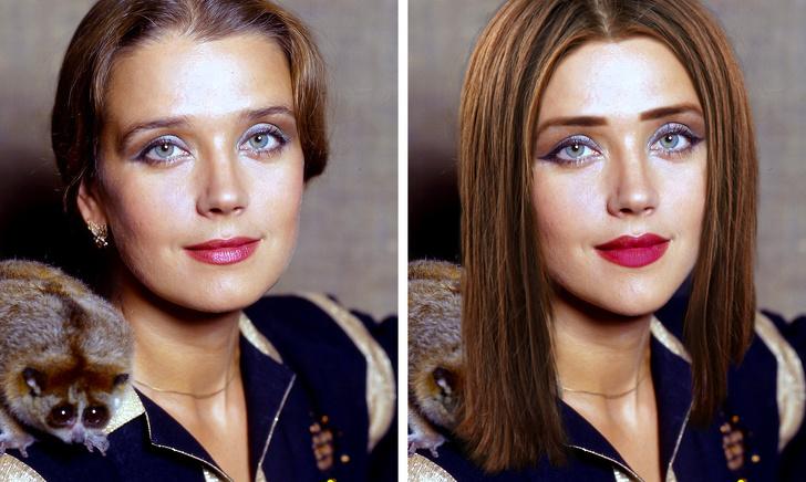 Как выглядели бы красавицы советского кино, родись они в наше время