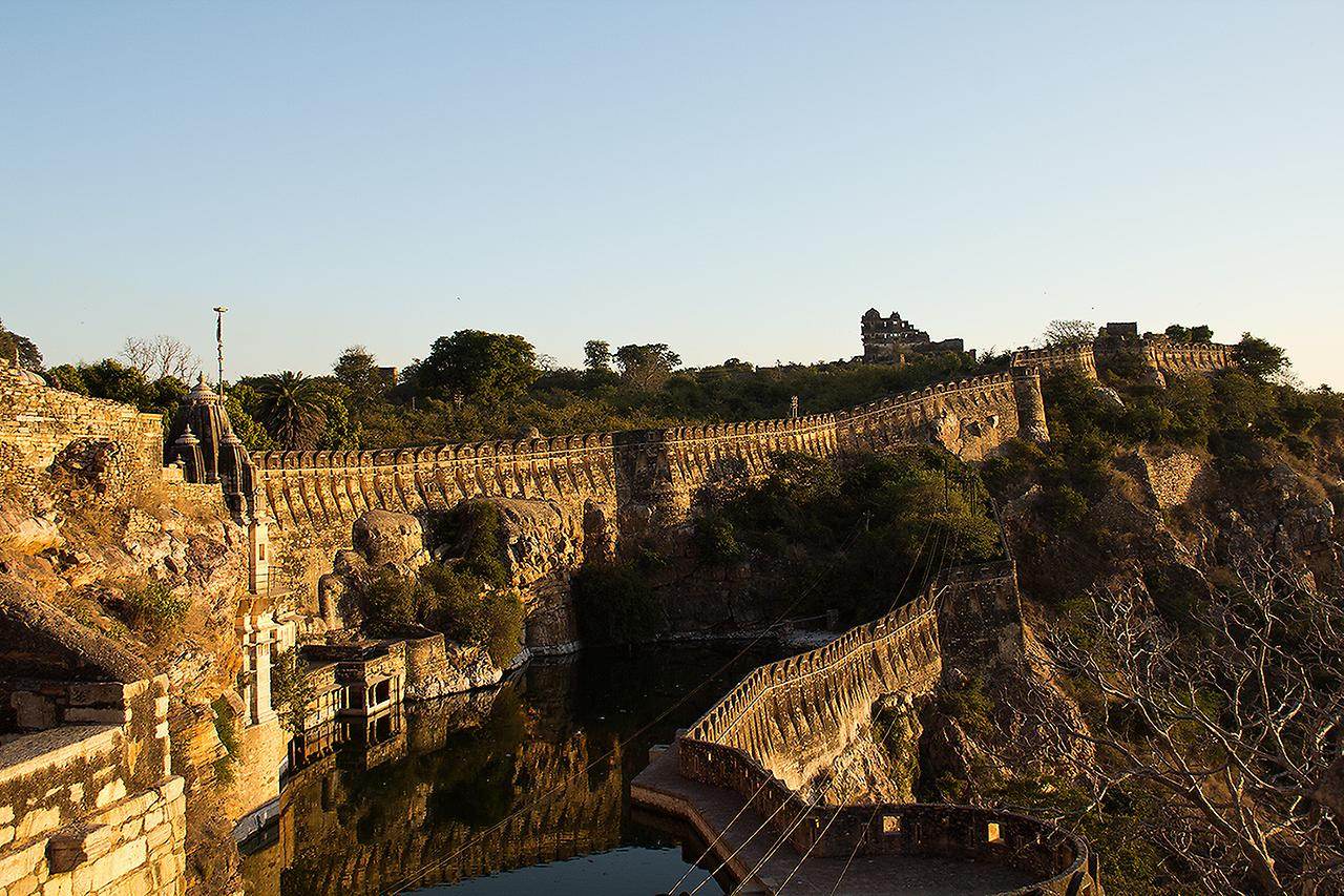 форт в Индии