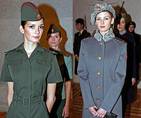 Юдашкин представил новую коллекцию женской военной формы /// Красота ...