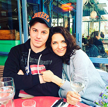Екатерина Климова с супругом Гелой Месхи