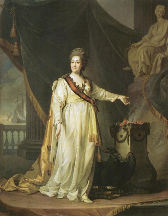 Портрет-Екатерины-II-в-виде-законодательницы-в-храме-богини-Правосудия.-1783 (542x700, 430Kb)
