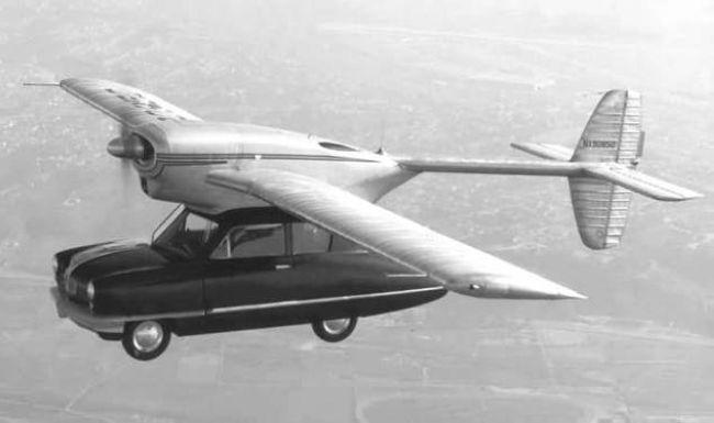 10 летающих автомобилей