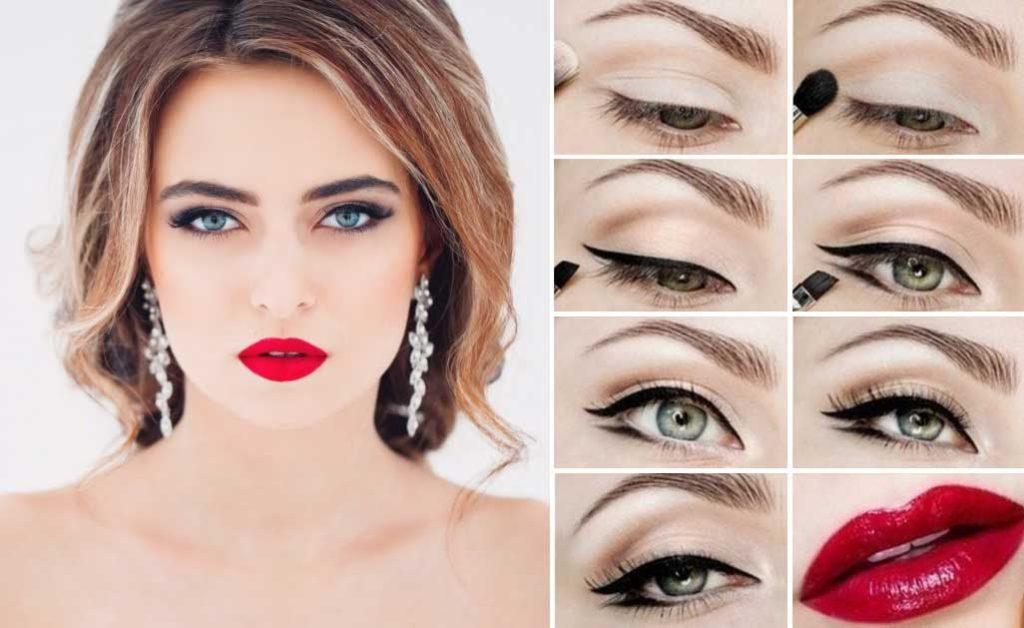 Как научиться делать макияж самой себе пошагово с