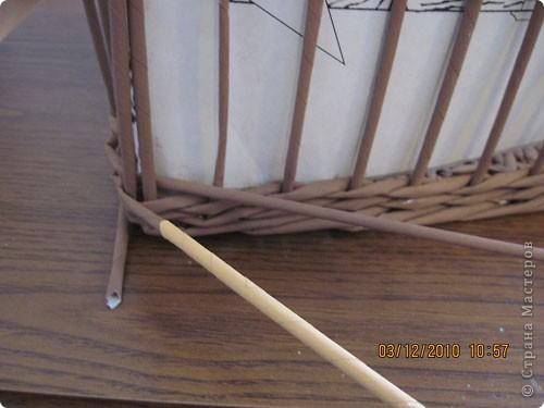 Мастер-класс,  Плетение, : Плетение квадратной (прямоугольной ) коробки Бумага газетная . Фото 26