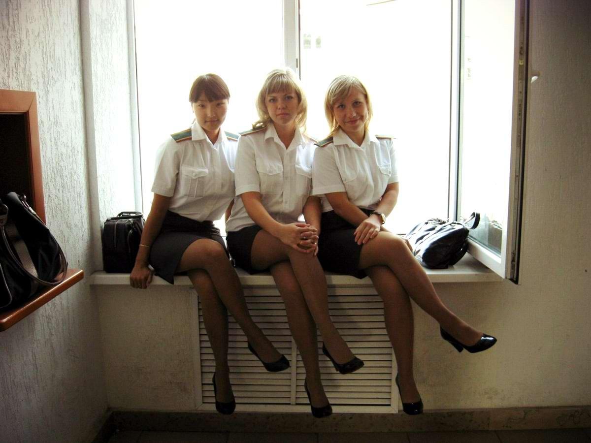 Фото женщин в милицейской форме 3 фотография