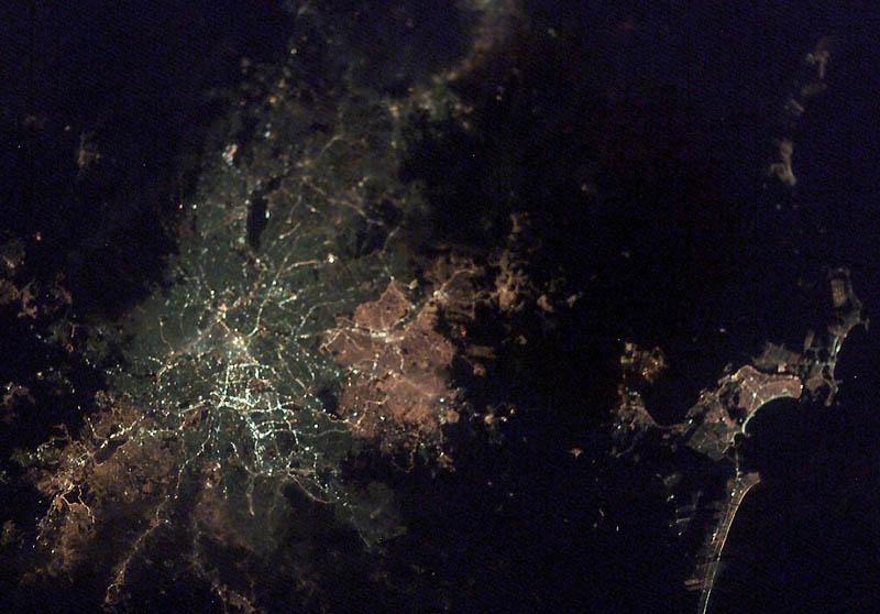 278 Ночь на планете: 30 фото из космоса
