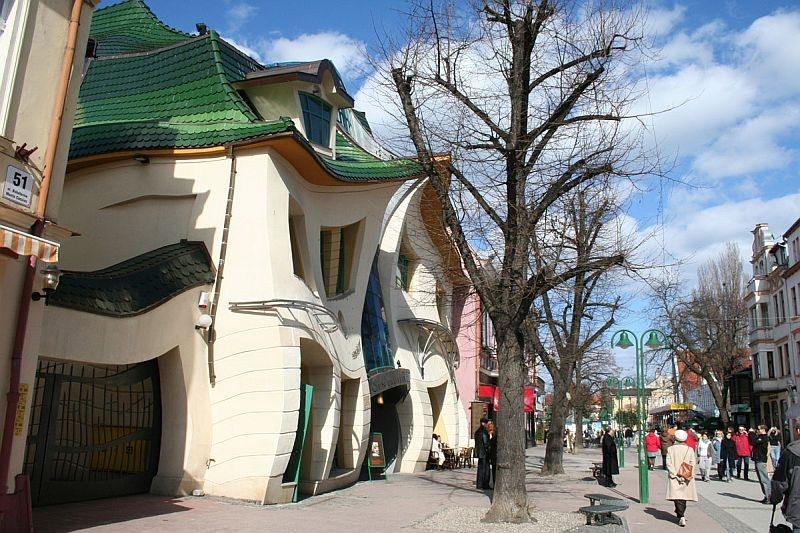 Кривой Дом в Сопоте, Польша