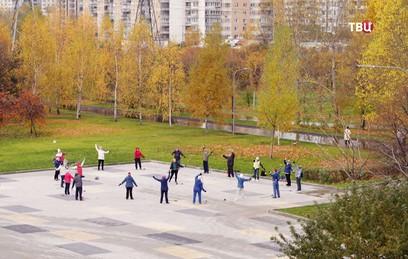 В Москве после благоустройства открылся парк 850-летия Москвы