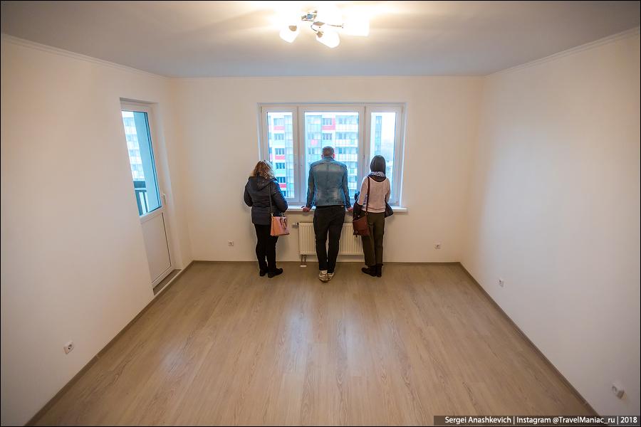 Жильцы получили квартиры по программе реновации