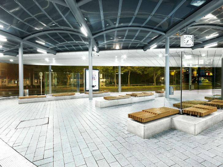 Самые роскошные автобусные остановки в мире