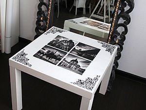 Превращаем старый стол в произведение искусства
