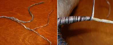 обматываем своими руками основу крыльев дракона ручной работы веревкой