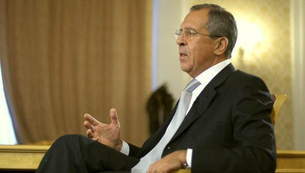 Сергей Лавров накануне встре…