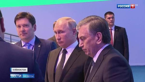 Президенты России и Узбекистана дали старт строительству АЭС