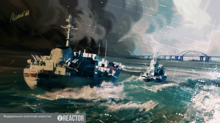 Басурин: СБУ в 2019 году планирует провокации в Азовском море с потоплением иностранных судов