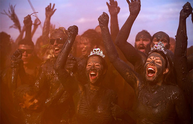 Фестиваль грязи «Bloco da La…