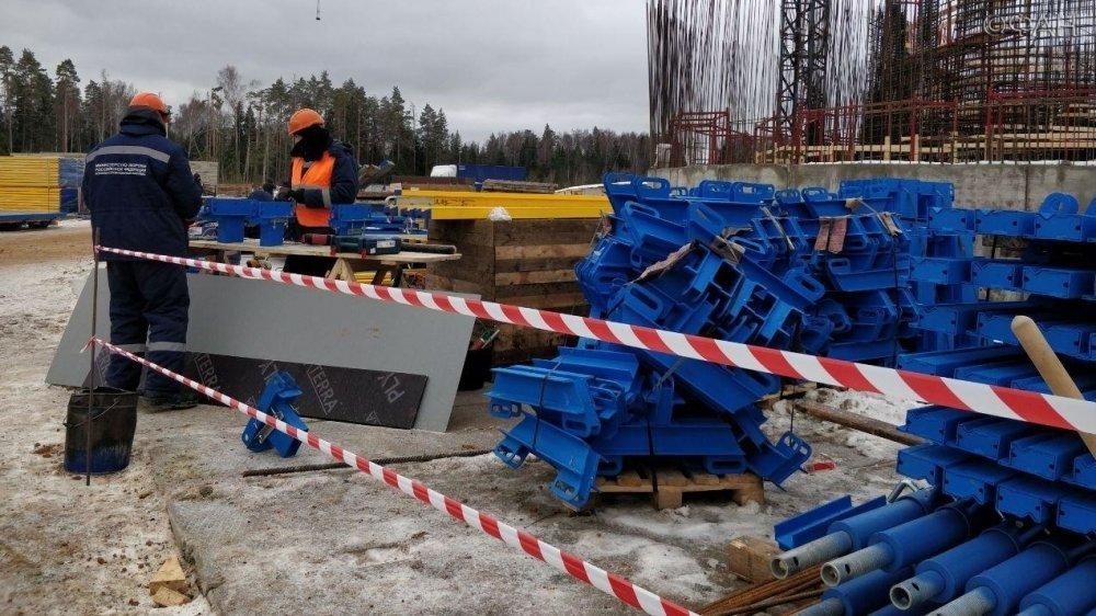 Две мины нашли на стройплоща…