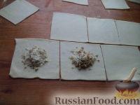 Фото приготовления рецепта: Шарики на кефире с ореховой начинкой - шаг №11