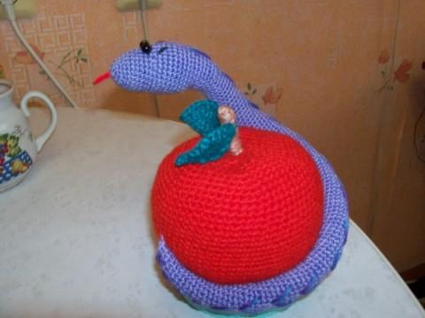 Змейки вязаные-4
