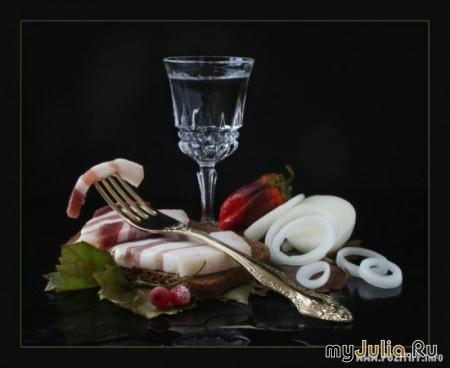 Сало - роман длиною в жизнь (специально для Полины!)...