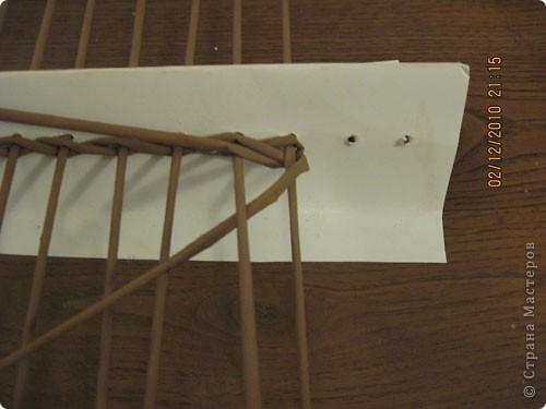 Мастер-класс,  Плетение, : Плетение квадратной (прямоугольной ) коробки Бумага газетная . Фото 6