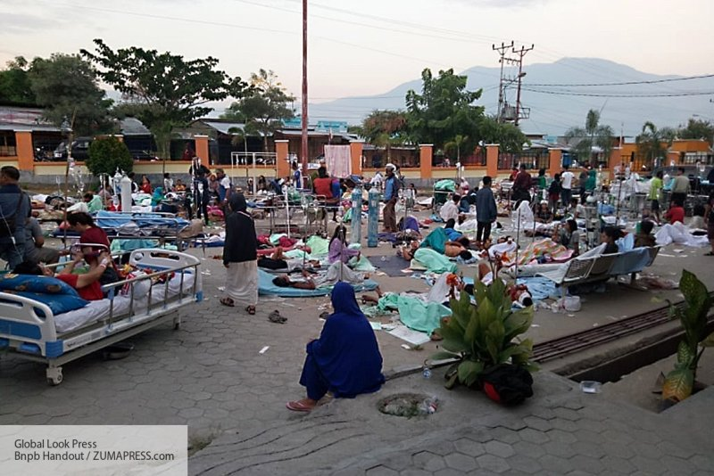 Индонезия: в результате цуна…